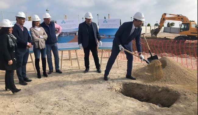 Comienzan las obras del Centro Deportivo 'Mar de Pulpí'