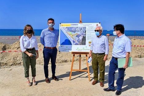 La prolongación del Paseo Marítimo de Almería estará lista en marzo de 2022