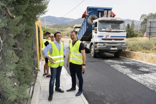 Diputación potencia la competitividad de la industria del mármol en Purchena