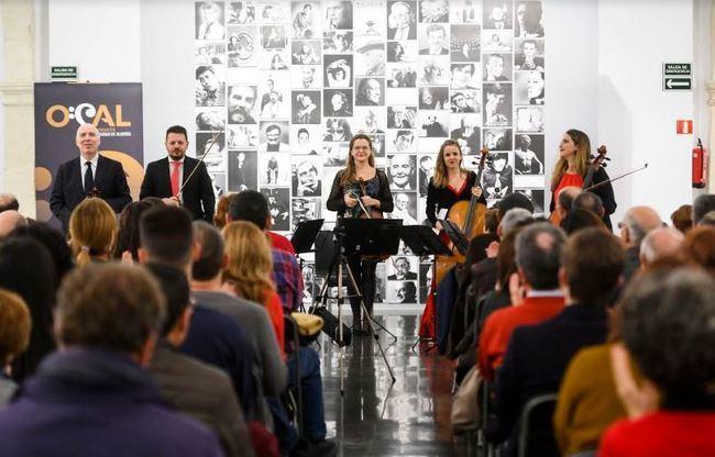 El Quinteto de cuerda de la OCAL lleva al CAF la magia de Schubert