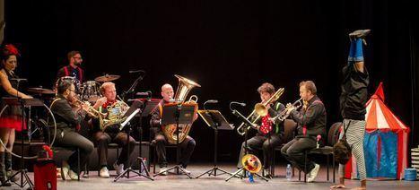 El concierto familiar de la OCAL convierte el Teatro Apolo en una carpa de circo