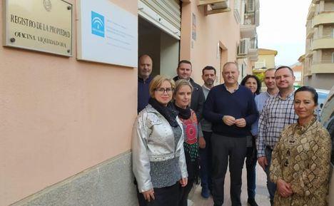 El PSOE se moviliza contra el cierre de la oficina liquidadora de Cuevas