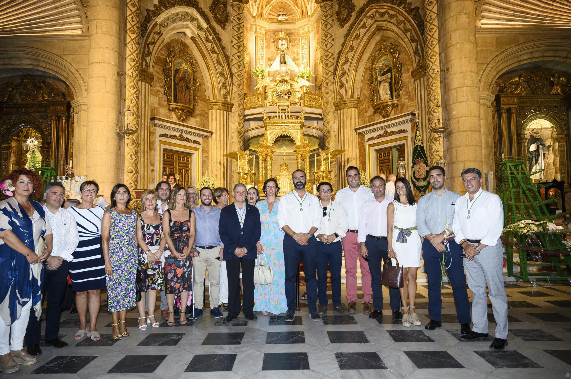 Ofrenda floral a la Virgen del Mar con la tradicional Ofrenda Floral