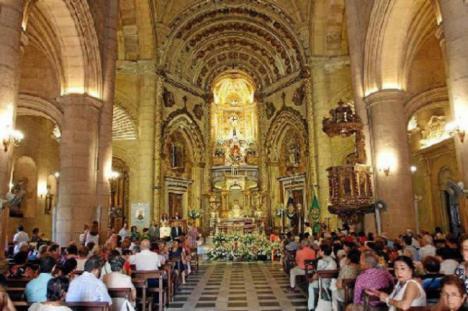 Habrá ofrenda de la UD Almería a la Virgen... como siempre