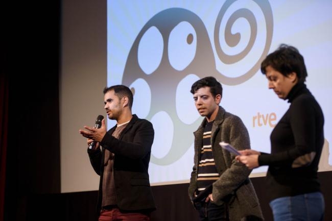 El Teatro Cervantes ha recibidola segunda sesión del Certamen Internacional de cortos de FICAL