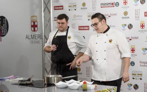Dim Sum de Trigo Almeriense', ganadora de la Tapa de la Capitalidad Gastronómica