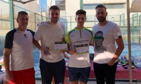 Antonio Mañas y Francis Calvache se imponen en el V Open de Pádel Ciudad de Berja
