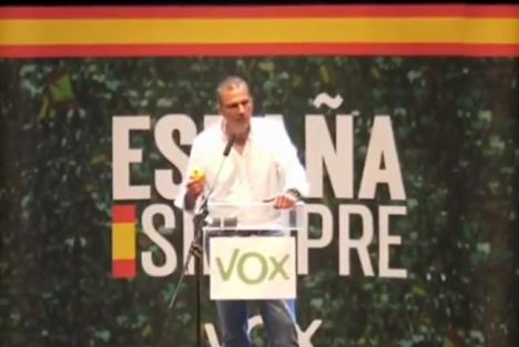 Ortega Smith mintió en El Ejido sobre el control sanitario a inmigrantes