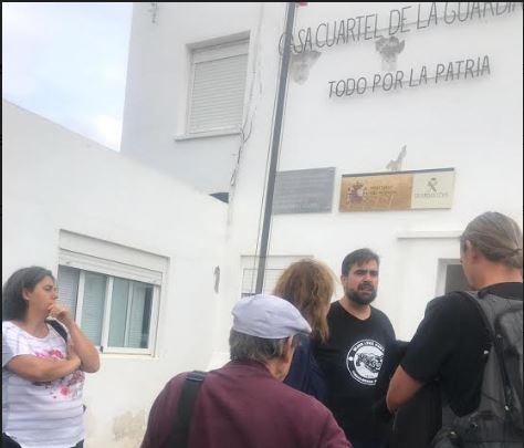 Detenido en Níjar Oscar Reina portavoz del SAT