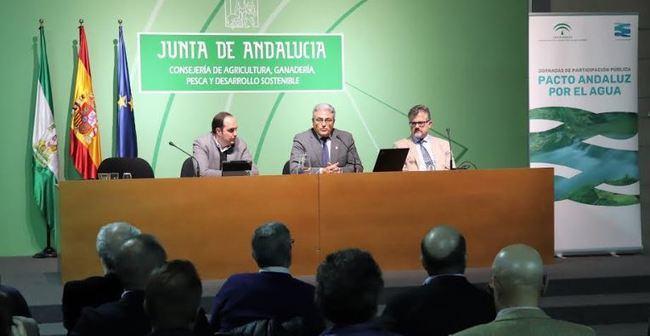Amplia participación en el 'Documento de trabajo del Pacto Andaluz por el Agua'
