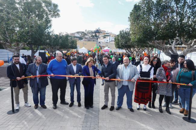Diputación y Gádor inauguran el 'Parque de las Familias'