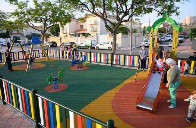 La Cañada y El Alquián tendrán nuevos parques infantiles
