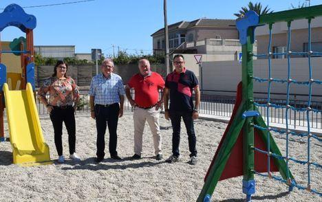 Nuevo Parque Infantil En La Parte Norte De Barrio Archilla