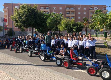 Primeras Visitas De colegios Foráneos Al Parque Infantil De Tráfico de Vícar