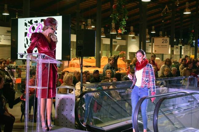 Gastronomía y moda en la pasarela 'I love shopping'