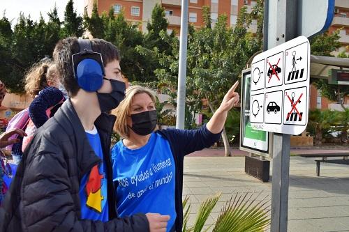 El Ayuntamiento De Vicar Instala Pasos De Peatones Inclusivos