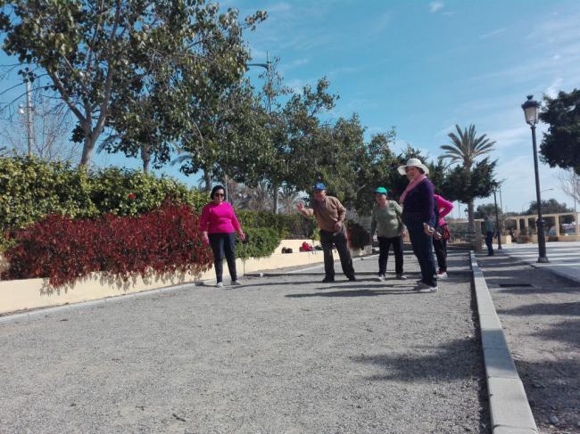 El Parque Del Olivo Acogió El Torneo De Petanca De La XIII Olimpiada De Mayores