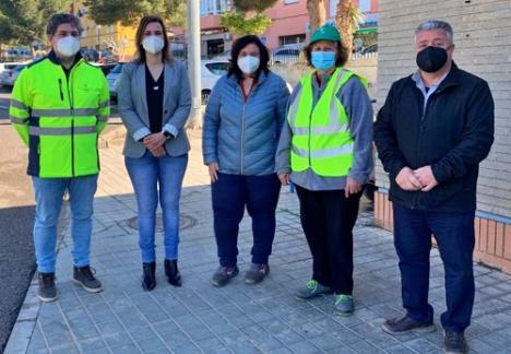 El PFEA crea más de 2.800 jornales para fijar la población en Benahadux y Gádor