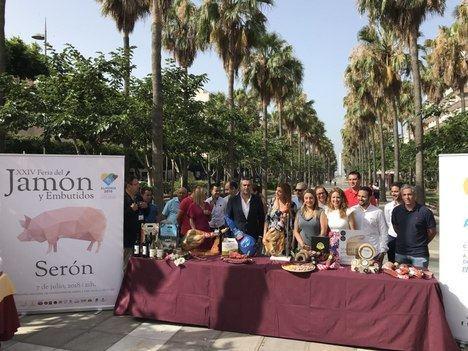 'Sabores Almería' se suma a la apuesta de la XXIV Feria del Jamón de Serón por 'Almería 2019'