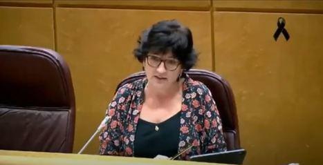 Senadora andalucista pide que el Corredor Mediterráneo esté en el