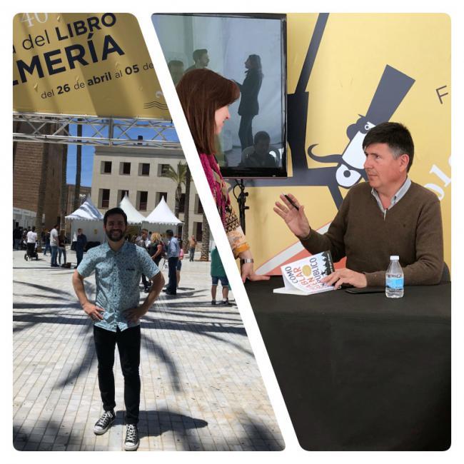 La Feria del Libro recibe a Fran Perea y Pimentel
