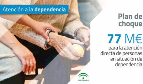 El PSOE mantuvo un 19% menos de evaluadores de dependencia en Almería