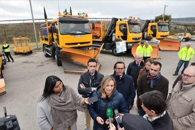 Más de 400 profesionales y 156 máquinas harán frente a las nevadas