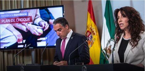 El PSOE acumulaba en Almería más de una década de retraso en expedientes de Dependencia