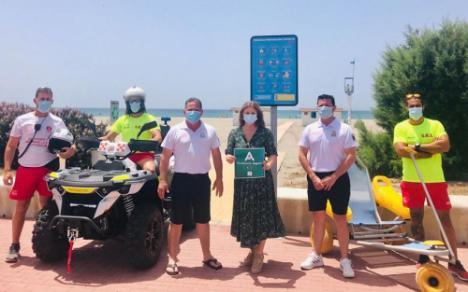 Las playas de El Ejido logran el 'Safe Tourism Certified' ante el #COVID19
