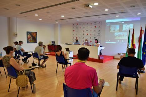 El Pleno Del Ayuntamiento de Vïcar Debate de Los Grupos Políticos