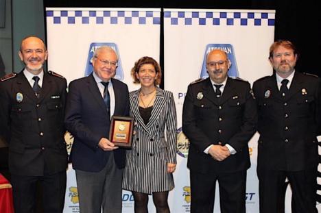 La Policía Local de Córdoba es premiada en Roquetas de Mar