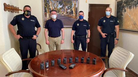 Nuevo sistema de comunicaciones para la Policía Local de Berja