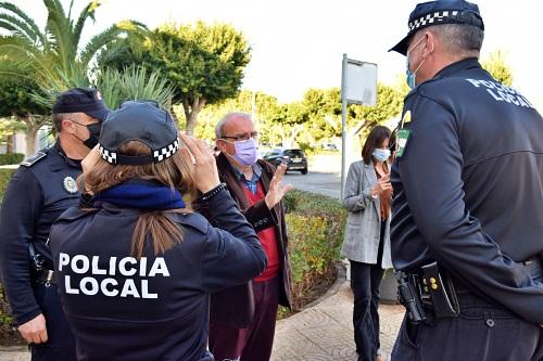 La Policía Local De Vícar Evita Dos Robos Y Detiene A Los Autores