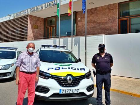 Nuevo Vehículo Patrulla Para La Policía Local De Vícar