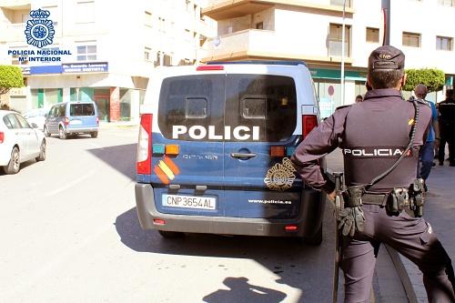 Un menor entre los cuatro detenidos por robar una peluquería de El Ejido