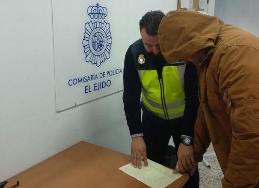 Policía Nacional detiene al autor de un 'narcoasesinato' cometido en Adra en 2015