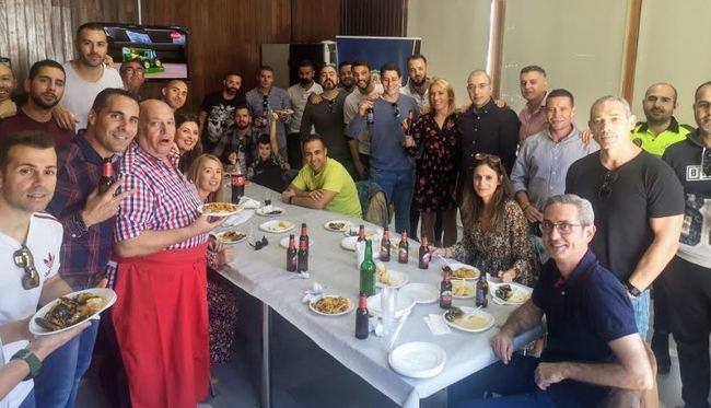 La Policía Portuaria de Almería celebra su despedida del año