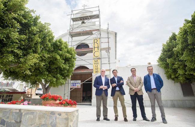 Diputación invierte en la recuperación de la Iglesia de Polopos