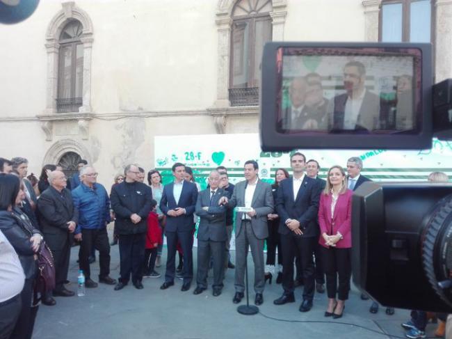 Fernández Pacheco: 'Este acto simboliza el encuentro por fin de Almería con la Andalucía del futuro'