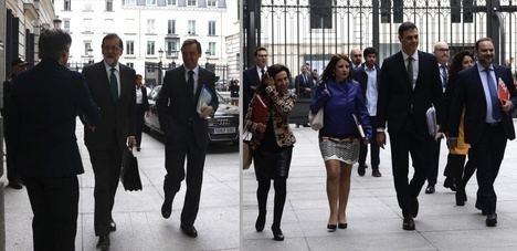 """Matarí afirma que si se votara por el debate Rajoy seguiría y Ferrer ha visto a Sánchez """"presidenciable"""""""