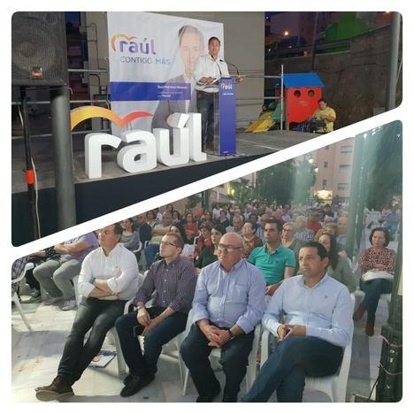 Raúl Martínez presenta el proyecto que asegurará el crecimiento en Macael