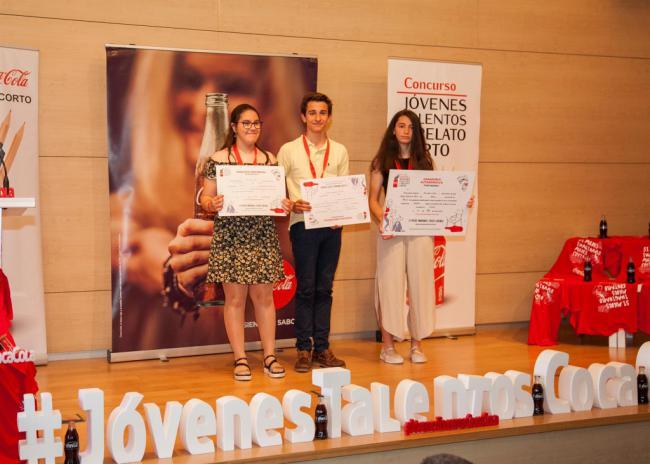 Ana Segura Rueda gana el Concurso de Relatos Jóvenes de Coca-Cola