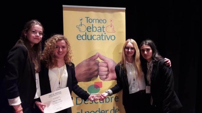 El IES Alto Almanzora de Tíjola, ganador del primer Torneo de Debate Educativo en Andalucía