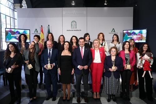 Premiado el CD Towanda Balonmano Veteranas Almería en los 23 Premios Meridiana
