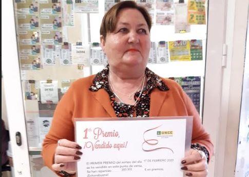 La ONCE reparte 700.000 euros entre Almería y Marbella