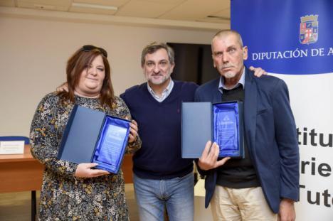 Diputación reconoce en una convivencia navideña a los tutelados más activos del IAT