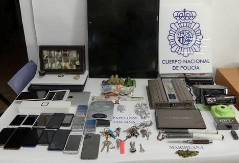 Desmantelado un punto de venta de droga muy activo en Plaza de Toros