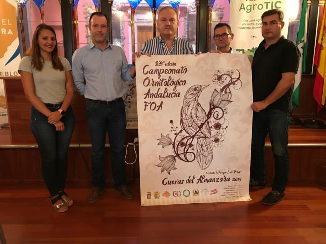 Cuevas del Almanzora, sede del Campeonato andaluz de Ornitología