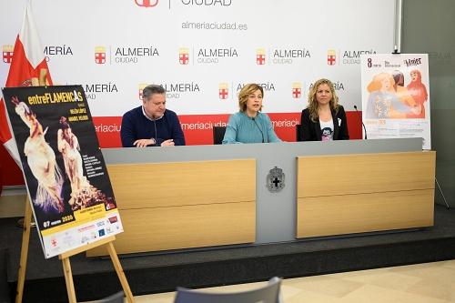 Actividades por la igualdad del Ayuntamiento de Almería con motivo del Día de la Mujer