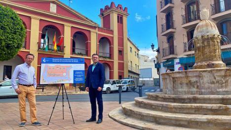 Las obras de la Plaza de la Constitución inician el segundo impulso del casco histórico de Berja